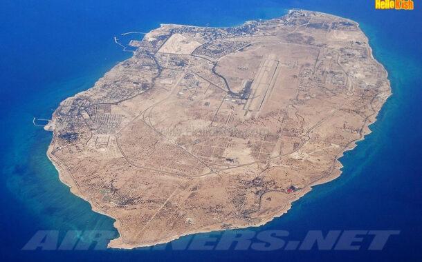 موقعیت جغرافیایی جزیره کیش
